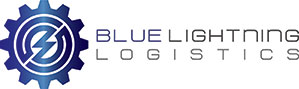Blue Lightning Logistics Logo